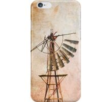 Windmill Texture iPhone iPhone Case/Skin
