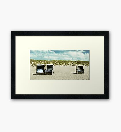 you and me and ... Framed Print