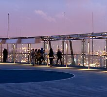 On the roof of Tour Montparnasse by Mark Prior