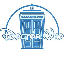 """Doctor Who"" Tardis Police Box Disney Logo Style Spoof by miztayk"