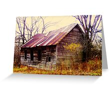 Turn of the Century Schoolhouse II Greeting Card