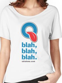 Oblah, blah, blah. T-shirt Women's Relaxed Fit T-Shirt