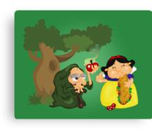 Snow White Canvas Print