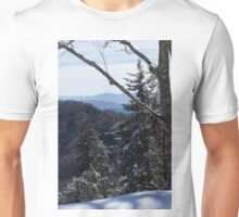 Snow on Newfound Gap Unisex T-Shirt