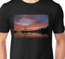 Vivid Skyscape - Summer Sunset at Toronto Beaches Marina Unisex T-Shirt