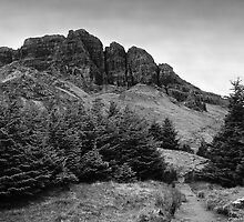 View at The Storr by Matthias Keysermann