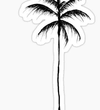 Palm Tree Illustration Sticker