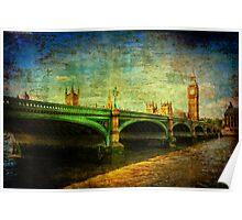 Westminster Bridge & Big Ben Poster