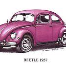 Volkswagen Beetle 1957 by mrclassic