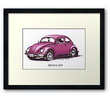Volkswagen Beetle 1957 Framed Print