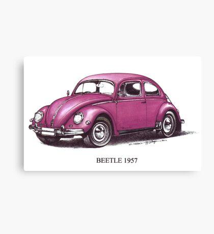 Volkswagen Beetle 1957 Canvas Print