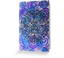 Mandala : Purple Passion Greeting Card