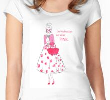 Wear Pink Women's Fitted Scoop T-Shirt