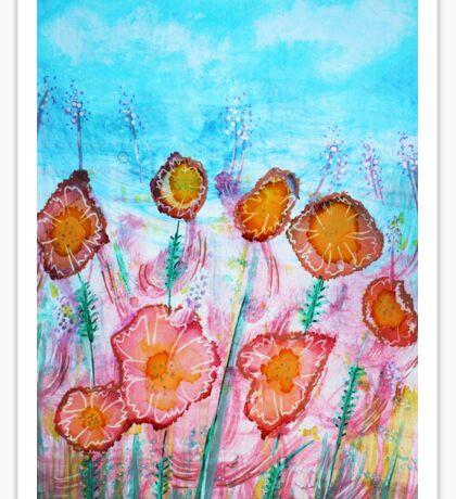 Floral Vibrant Sticker