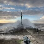 ABER LIGHT HOUSE! by tim williams