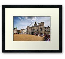 Horse Guards Parade Framed Print