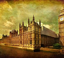House Of Parliament - London by Yhun Suarez