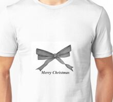 Christmas Bow Unisex T-Shirt
