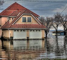 House under water by Erykah36