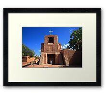 Santa Fe - San Miguel Chapel Framed Print