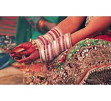 WEDDING RITUAL Photographic Print
