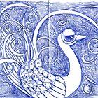 Blue Sketch by MarikaMakes