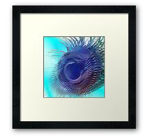 Too close to singularity - Abstract CG Framed Print