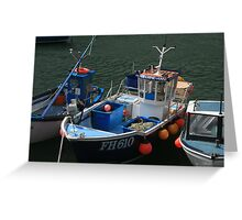 Porthleven, Cornwall Greeting Card