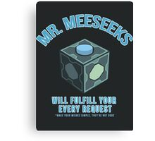 MR. MEESEEKS BOX Canvas Print