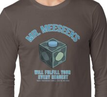 MR. MEESEEKS BOX Long Sleeve T-Shirt