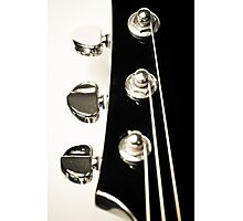 Guitar Head Photographic Print