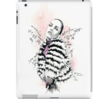 Eve in fur iPad Case/Skin