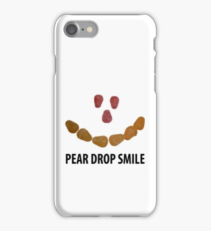 Pear Drop Smile iPhone Case/Skin