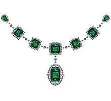 Comstock Emeralds Photographic Print