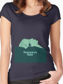 Pray For Rosemary's Baby Women's Fitted Scoop T-Shirt