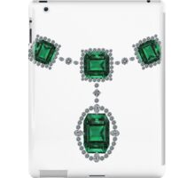 Comstock Emeralds iPad Case/Skin