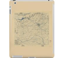 September 1 1944 World War II Twelfth Army Group Situation Map iPad Case/Skin