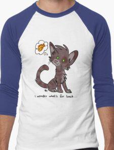 Hungry Kitty Men's Baseball ¾ T-Shirt