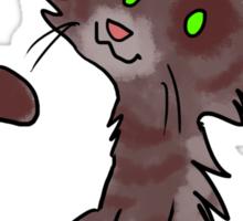Hungry Kitty Sticker