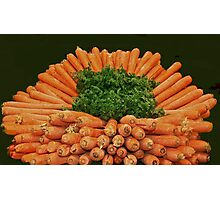 Carrots & Parsley Photographic Print