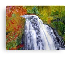 Beautiful Water Fall Canvas Print