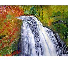 Beautiful Water Fall Photographic Print