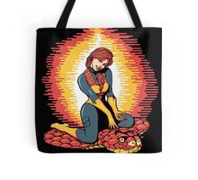 A Real American Pinup Tote Bag