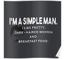 Simple Man Poster
