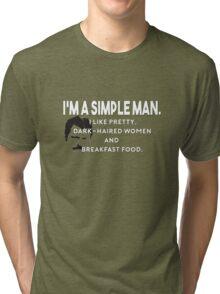 Simple Man Tri-blend T-Shirt