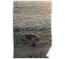 Sea splash Poster