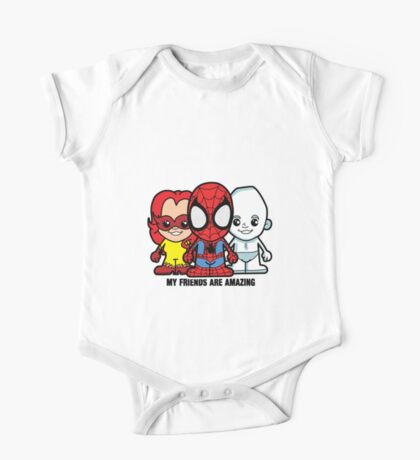 Lil Amazing Friends One Piece - Short Sleeve