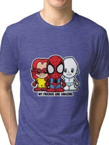 Lil Amazing Friends Tri-blend T-Shirt