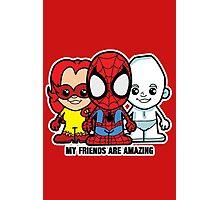 Lil Amazing Friends Photographic Print