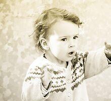 Pointing a something afar by Matt Sillence